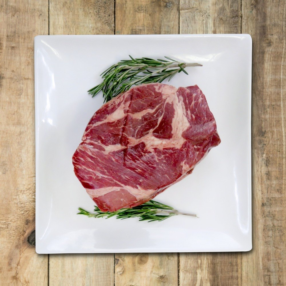 Boneless Blade Steak - Grass Fed Beef from Nutrafarms)