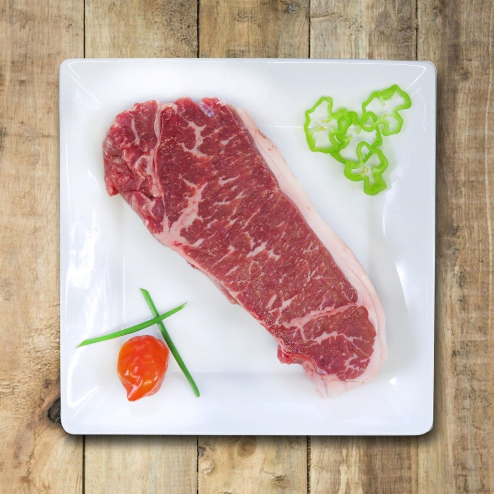 NY Strip Loin Steak - Grass Fed Beef from Nutrafarms