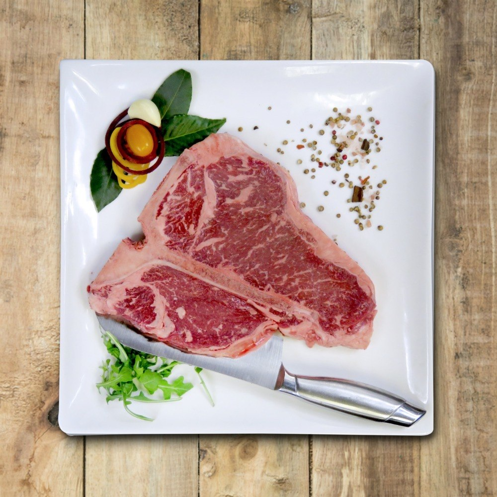 T - Bone Steak - Nutrafarms - Grass Fed Beef