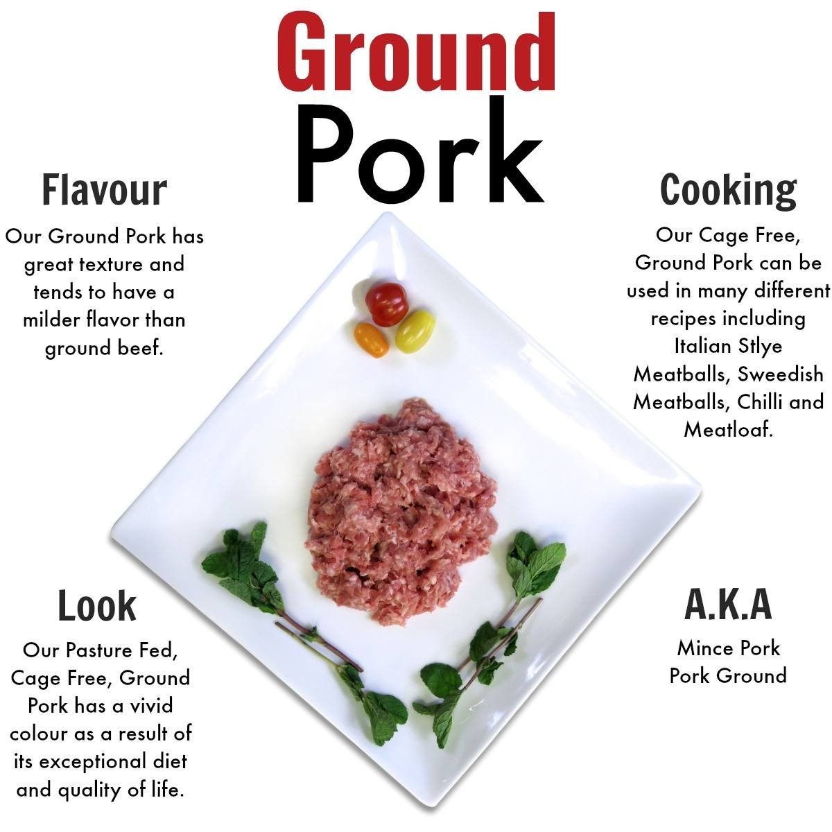 Ground Pork - Nutrafarms