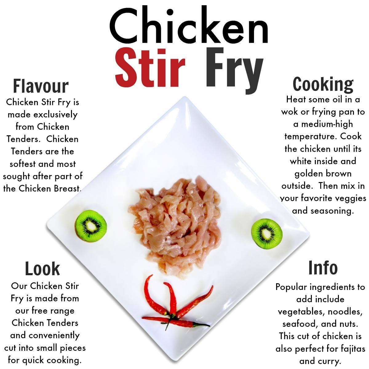 Stir Fry Chicken - Nutrafarms