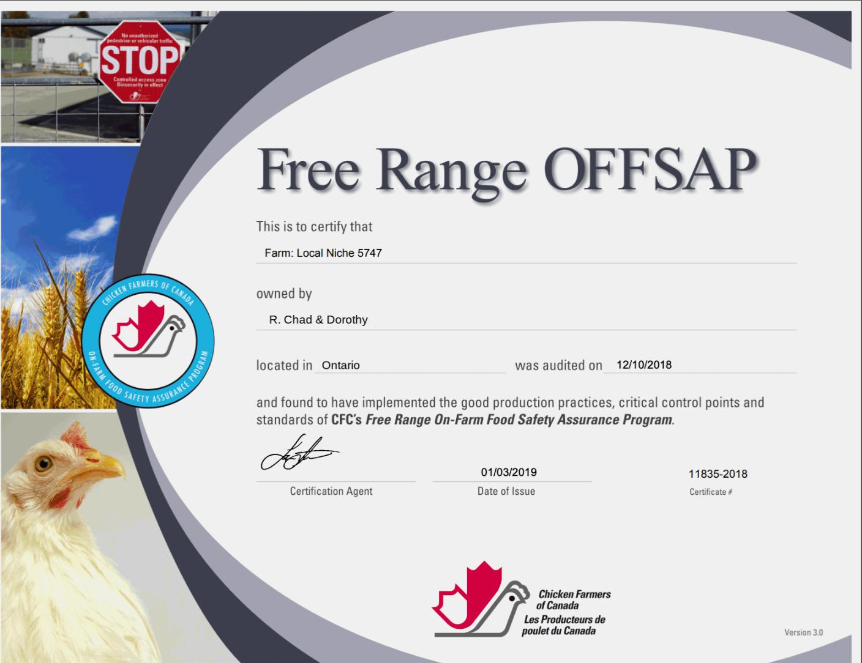 Free Range OFFSAP - Ontario (edited)