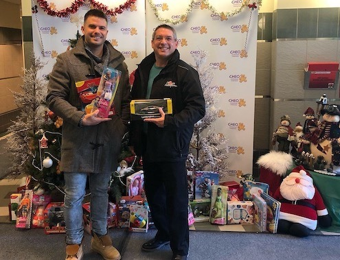 Toy Drive for the Childrens Hosiptal in Ottawa